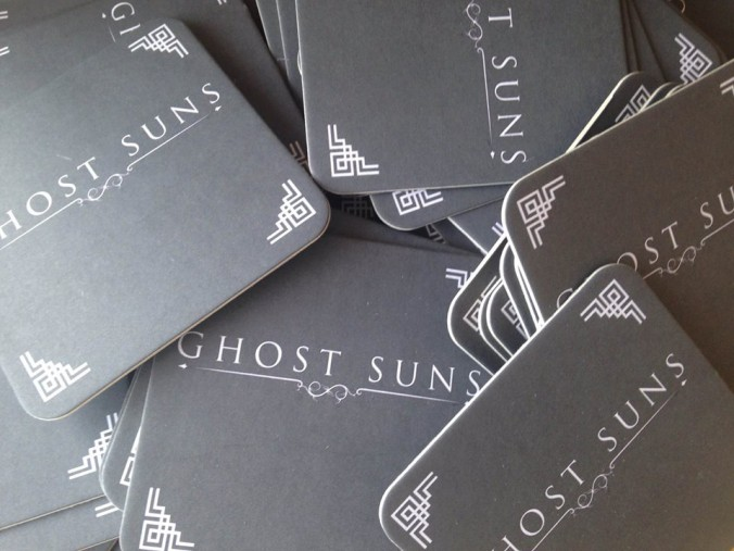 Ghost Suns - Coaster