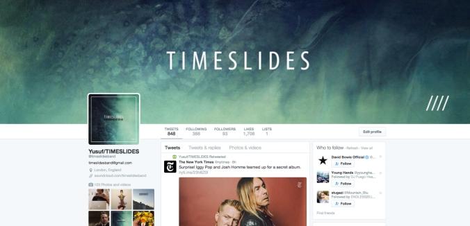 Timeslides - Twitter
