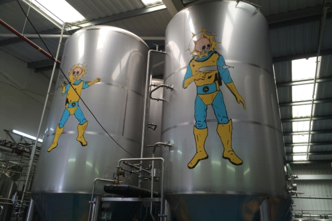 beavertown gamma ray space man