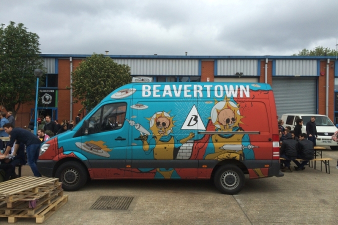 beavertown gamma ray van