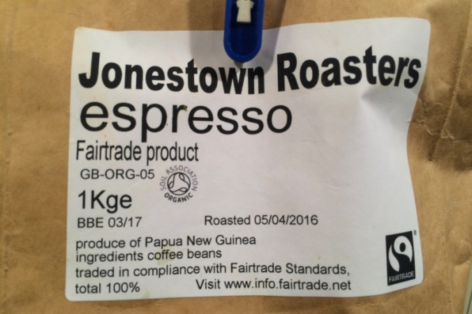 jonestown roasters coffee beans