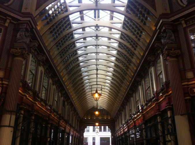 leadenhall market roof