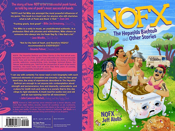 nofx hepatitis bathtub book cover