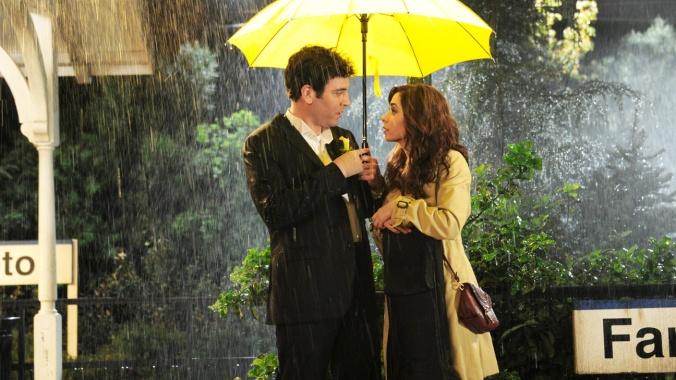 how i met your mother yellow umbrella rain
